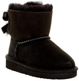 UGG Mini Bailey Genuine Lamb Fur Lined Bow Boot (Toddler & Little Kid)