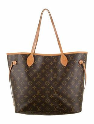 Louis Vuitton Monogram Neverfull MM Brown