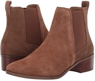 Steve Madden Dover Bootie (Cognac Suede) Women's Boots