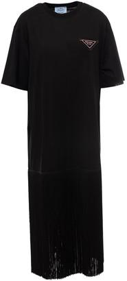 Prada Fringed T-Shirt Dress