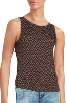 Free People Patterned Knit Tank Top