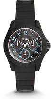 Fossil Poptastic Sport Multifunction Black Silicone Watch