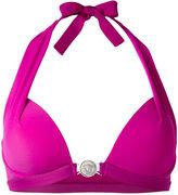 Versace push up halter bikini - women - Polyamide/Spandex/Elastane - 1
