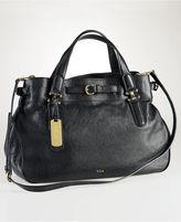 Lauren Ralph Lauren Handbag, Chandler Belted Satchel