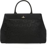 Vivienne Westwood Harrow Tote Bag 131208 Black H26cm x W42cm x D13cm