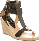 Andre Assous Pippi Patent Wedge Espadrille
