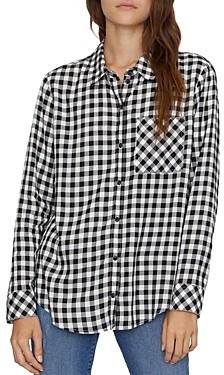 Sanctuary Checkered Boyfriend Shirt