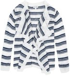 Splendid Little Girl Stripe Wrap Sweater