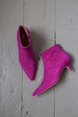 Shoe The Bear - Sara Fuchsia Purple Suede Low Cut Boot - 38