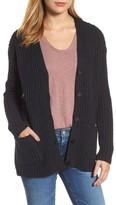 Velvet by Graham & Spencer Women's Textured Button Cardigan
