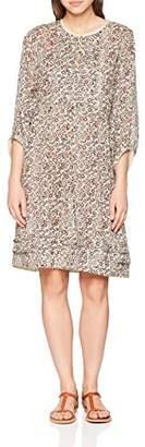 Noa Noa Women's Breezy Voile Long Sleeve Dress,8 (Manufacturer Size:34)
