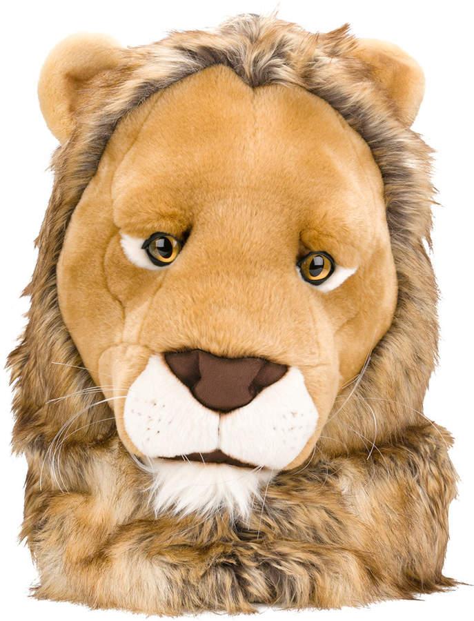 Dolce & Gabbana faux fur lion backpack