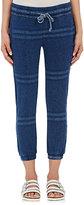 "NSF Women's ""Tweed"" Jogger Pants-BLUE"