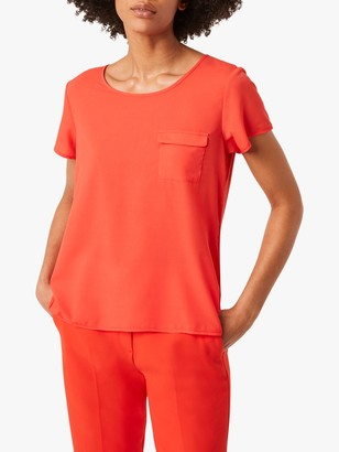 French Connection Abena Light Crepe Top