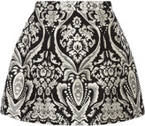 Alice + Olivia Loran jacquard mini skirt