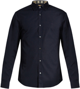 Burberry Cambridge single-cuff cotton-blend poplin shirt