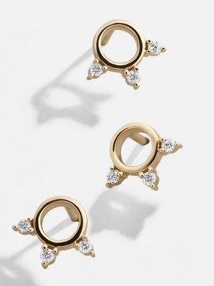BaubleBar Trin Diamond Single Stud Earring