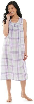 Croft & Barrow Women's Pintuck Yoke Nightgown
