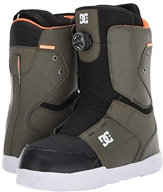DC Scout BOA(r) Snowboard Boots (Olive Night) Men's Snow Shoes