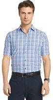 Van Heusen Big & Tall Air Wovens Classic-Fit Poplin Performance Button-Down Shirt