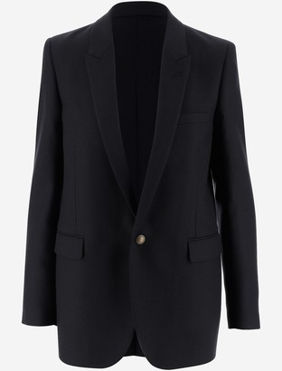 Saint Laurent Virgin Wool Women's Blazer