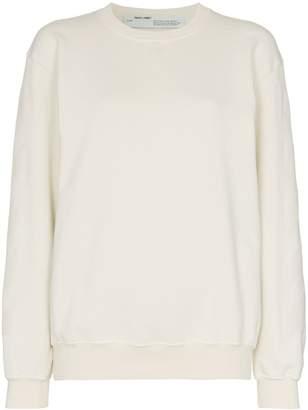Off-White tonal logo print sweatshirt