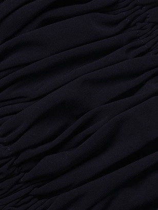 Norma Kamali Jose Off-The-Shoulder Shirred Bikini Top