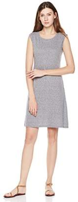 Painted Heart Women's Round Neck Knee Length Jersey Dress