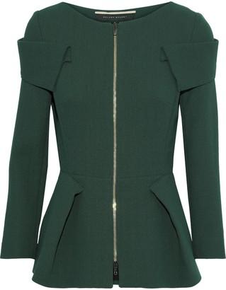 Roland Mouret Fosse Wool-crepe Jacket