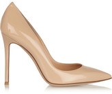 Gianvito Rossi Patent-leather Pumps - Neutral