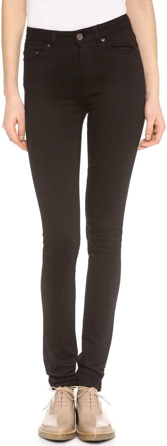 Acne Studios Pin High Rise Skinny Jeans