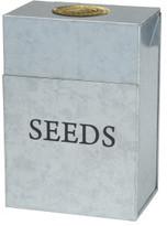 Stephanie Alexander Galvanised Seed Storage Tin
