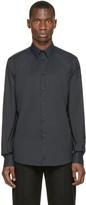 Versace Black Classic Slim Shirt