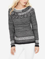 The Limited Fringe Detail Sweater