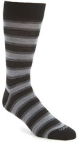 Lorenzo Uomo Men's Dual Stripe Socks