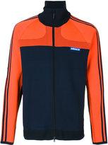 adidas long sleeve zipped jacket