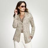 Jones New York Shimmer Tweed Cardigan