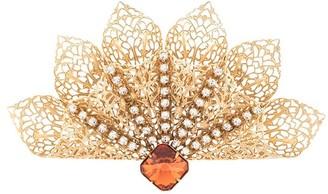 Kenneth Jay Lane Crystal Embellished Broach