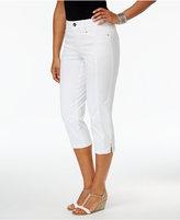 Style&Co. Style & Co Slim-Leg Capri Pants, Only at Macy's