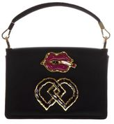 DSQUARED2 Dd Embellished Satin Shoulder Bag