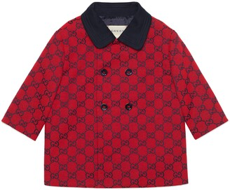Gucci Baby GG canvas coat