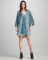 Diane von Furstenberg Fleurette Dress, Dusty Blue