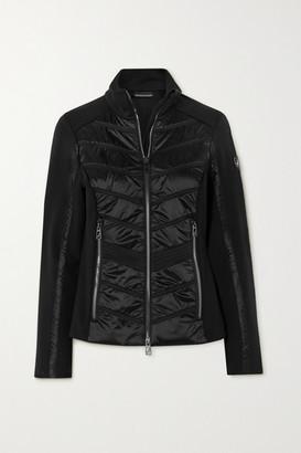 Toni Sailer Aina Quilted Paneled Ski Jacket - Black