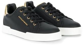 Dolce & Gabbana Low-Top Logo Sneakers