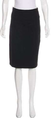 Theory Knee-Length Pencil Skirt
