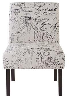 "One Allium Way Featherstone 22.5"" Wide Parsons Chair"
