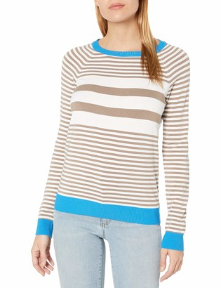 525 America Women's Crew Neck Stripe Sweater