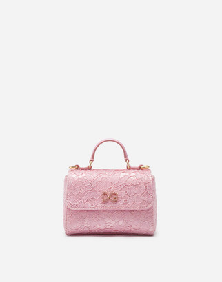 Dolce & Gabbana Handbag With Lace Logo