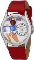 Whimsical Watches Women's S0630003 Nail Tech Leather Watch