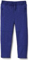 Gap Zip jersey pants